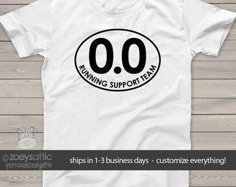 sports shirt   funny 0.0 running support team unisex tshirt   no run support adult tshirt  mrun-004