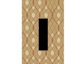 light switch plate, brown art, modern decor, natural colors, living room decor, kitchen decor, bedroom art, wall art, Home decor, USA made