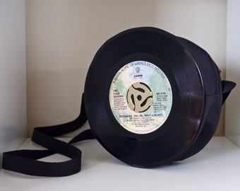 Oh What A Night 45RPM Record Purse