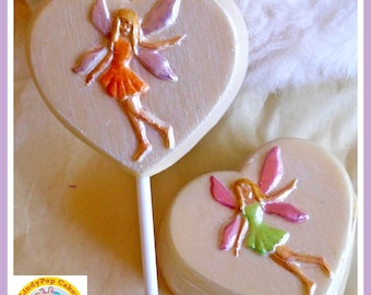 Girls Fairy Gift Chocolate/Fairy Birthday/Edible Fairy/Fairy Chocolate/Fairy Lover/Fairy Party/Magical Fairy/Fairy Box/Fairy Heart Lollipop