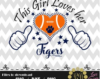 Love Tigers svg,png,dxf,cricut,silhouette,college,jersey,shirt,proud,birthday,invitation,clemson,auburn svg,cutting,university svg,football,