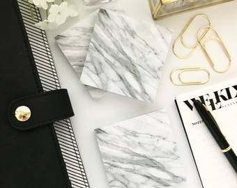 Marble Sticky Notepad