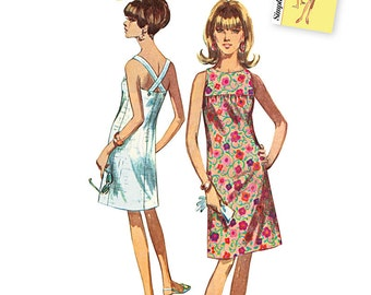 OUT of PRINT Simplicity Pattern 1101 Misses' Jiffy Dresses