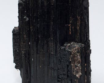 Black Tourmaline/Schorl Crystal XL No. 6 with stand area 785 grams