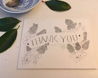 Single card: Lilac