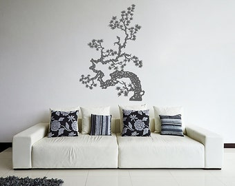 Tree Wall Decals Trees Decal Nursery Tree mural Vinyl Wall Decal Home Decor bedroom Decor kik350
