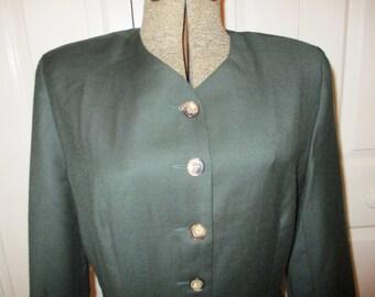 vintage wool Brooks Brothers dress