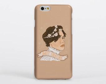 Sweet Creature Phone Case iPhone Samsung Gloss Matte Tough Flip Slip One Direction Harry Styles Portrait Drawing Illustration