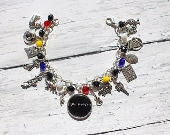 Friends Inspired Charm Bracelet