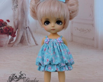 Dress for a doll BJD Lati Yellow/Pukifee/IrrealDoll/Luts Tiny Delf