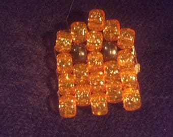 Pacman Ghost (Pony Beads)