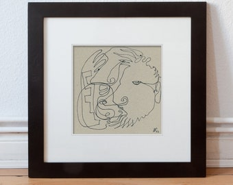 Original image, hand drawn 15/15-Original drawings/hand drawings/Line drawings/contour drawings