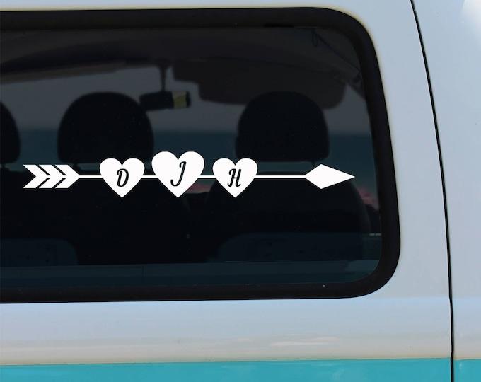 Heart and Arrow Monogram Deca