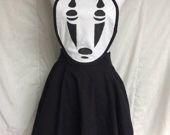 Mask Apron- Anime Apron- Cosplay Apron- Anime Costume