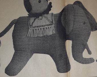 Amigurumi Magazine Pdf : Elephant amigurumi etsy studio