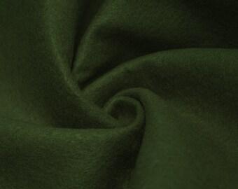 Dark Hunter Green Acrylic Craft Felt Fabric By the Yard Style 3009
