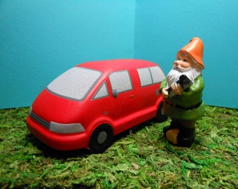 VW Van-Red Van- Red Rubber Van-Lots of 1-5 Or More on Request- More than 150 in Stock
