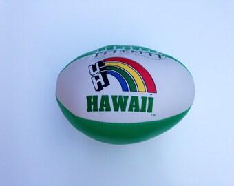 Hawaii Rainbow Warriors Plush Football