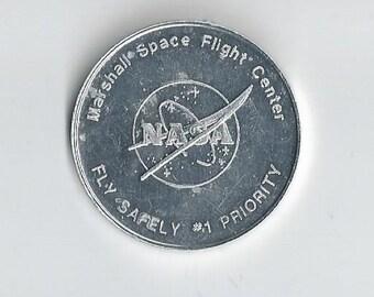 NASA Space Shuttle Safety Token-me1817013