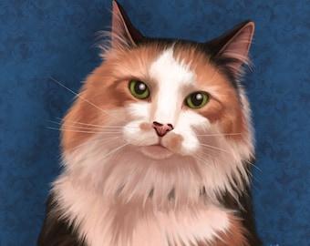 Individual Custom Cat Portrait