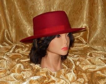 Genuine vintage Borsalino hat - wool