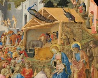 Adoration of the Magi by Fra Angelico & Fra Filippo Lippi, c.1440-1460