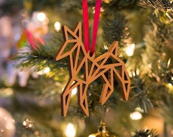 Deer Origami Ornament