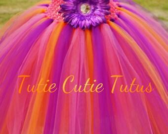 Dora The Explorer Inspired Tutu Dress NB-8