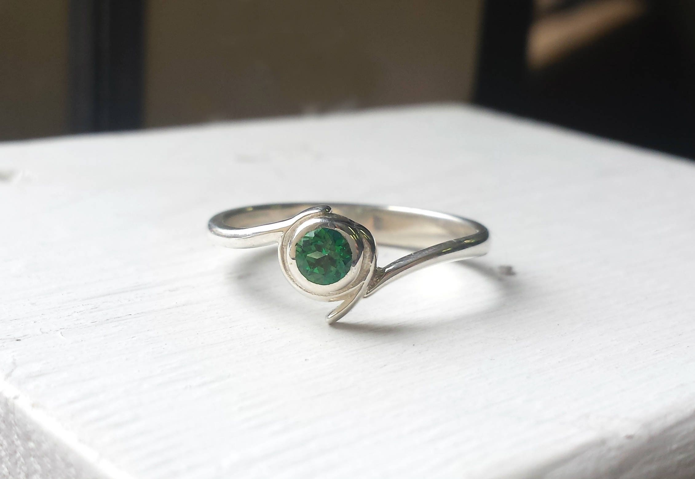 rings gemstone west east whiteview ring classic engagement emerald