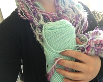 Custom Arm Knit Scarf