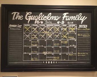 Custom Chalkboard Signs and Calendars