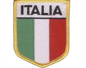 Italia Patch - Italy (Iron on)