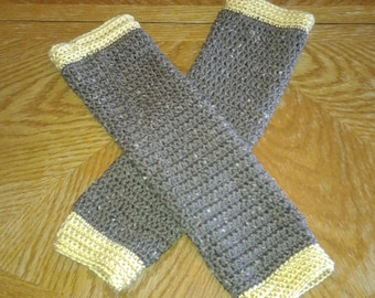 Arm Warmers, Fingerless Mitts, Fingerless Gloves, Crocheted Arm Warmers, Long Arm Warmers, Acrylic Fingerless Gloves, Child's Leg Warmers