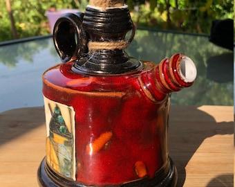 Ceramic Teapot, Pottery Teapot, Handmade Teapot, Wine Jug, Whiskey Jug, High Quality Stoneware