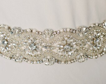 "SALE Jaxie ""Julia"" Bridal Belt"