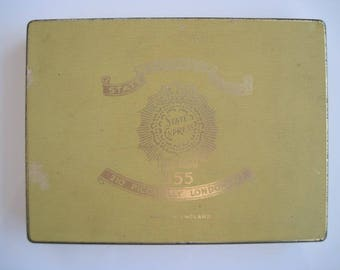 50 tin of State Express 555 cigarettes