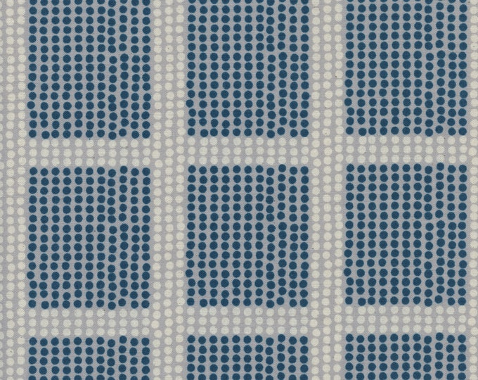 PRESALE: The Avenues in Ocean (cotton) from Imagined Landscapes by Jen Hewett for Cotton + Steel