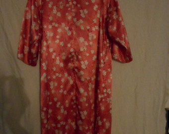 FINAL REDUCTION*** Lord and Taylor robe/ house coat pink floral never worn size S