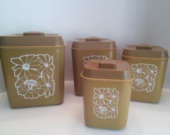 Retro canister set
