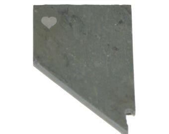 Nevada Slate Fridge Magnet- Personalized with Laser Engraving