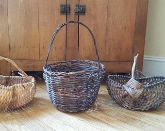 Woven Grapevine Basket