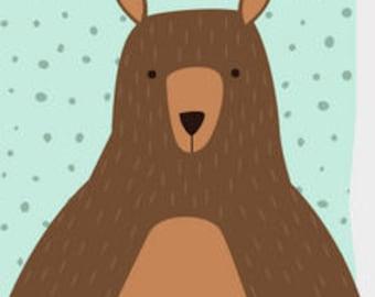 A Bear-y Response Postcard