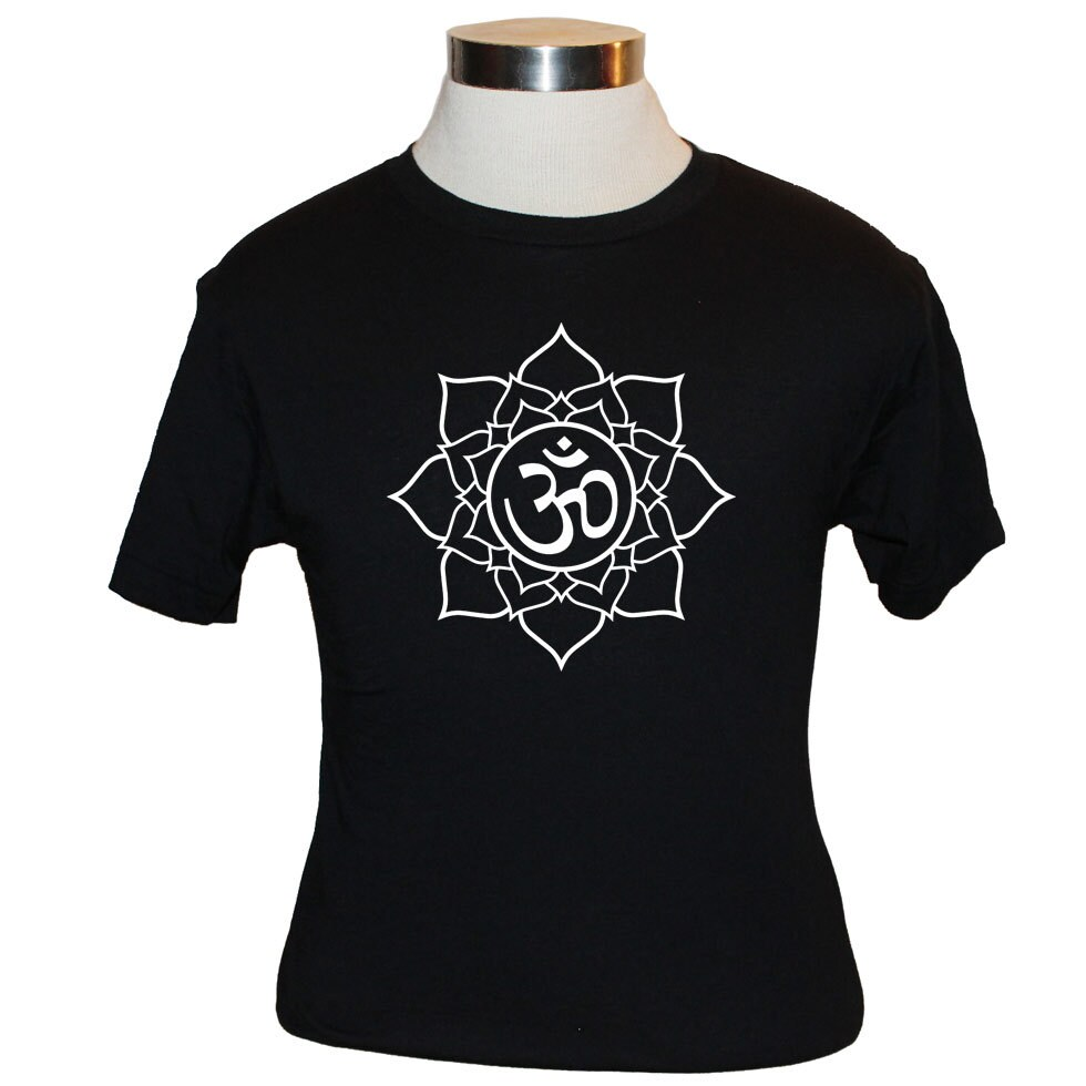 Lotus flower t shirt om symbol premium quality american zoom izmirmasajfo