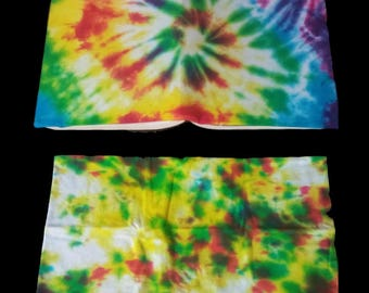 Custom Hand Tie-Dyed Book Covers