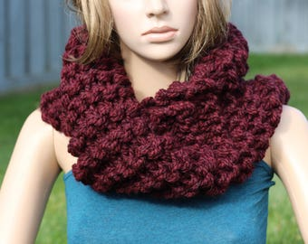 Chunky Infinity Cowl - Outlander Inspired
