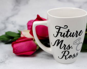 Future Mrs. Customized Mug for Weddings and Engagements