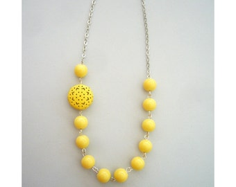 The yellow series necklace 1 SALE