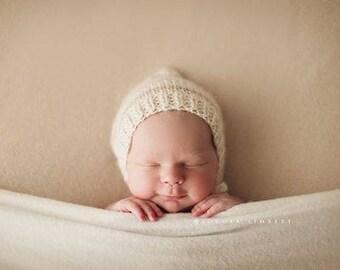 Striped pixie, knit pixie bonnet, striped bonnet, pixie hat, photo prop, newborn, photography prop, newborn photo prop, stripes, striped hat