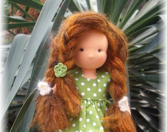 Ready to ship Waldorf doll, steiner doll 11 inches