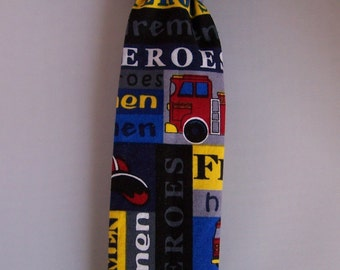 Fire Truck NeckTie Bowtie RTS in a Size 4T/5T Baby Toddler Boys Clothing Accessory
